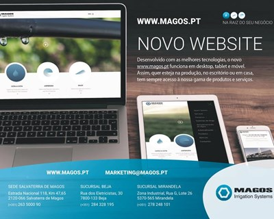 Magos Irrigation Systems apresenta o seu novo website