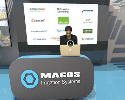 Magos Irrigation Systems presente com stand virtual na Agroglobal