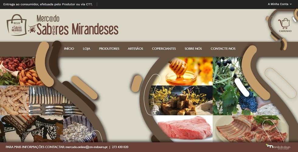 Merc@ado de Sabores e Saberes Mirandeses