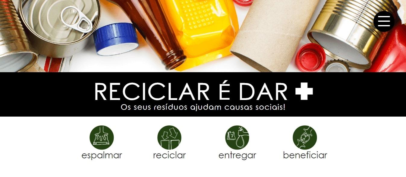 Reciclar é Dar+
